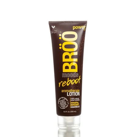 Aromatherapy Body Souffle (BROO Lotion, Reboot Aromatherapy Body Lotion, BROO Moods, 8.5oz)