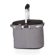 Picnic Plus Shelby Collapsible Market Tote - Houndstooth