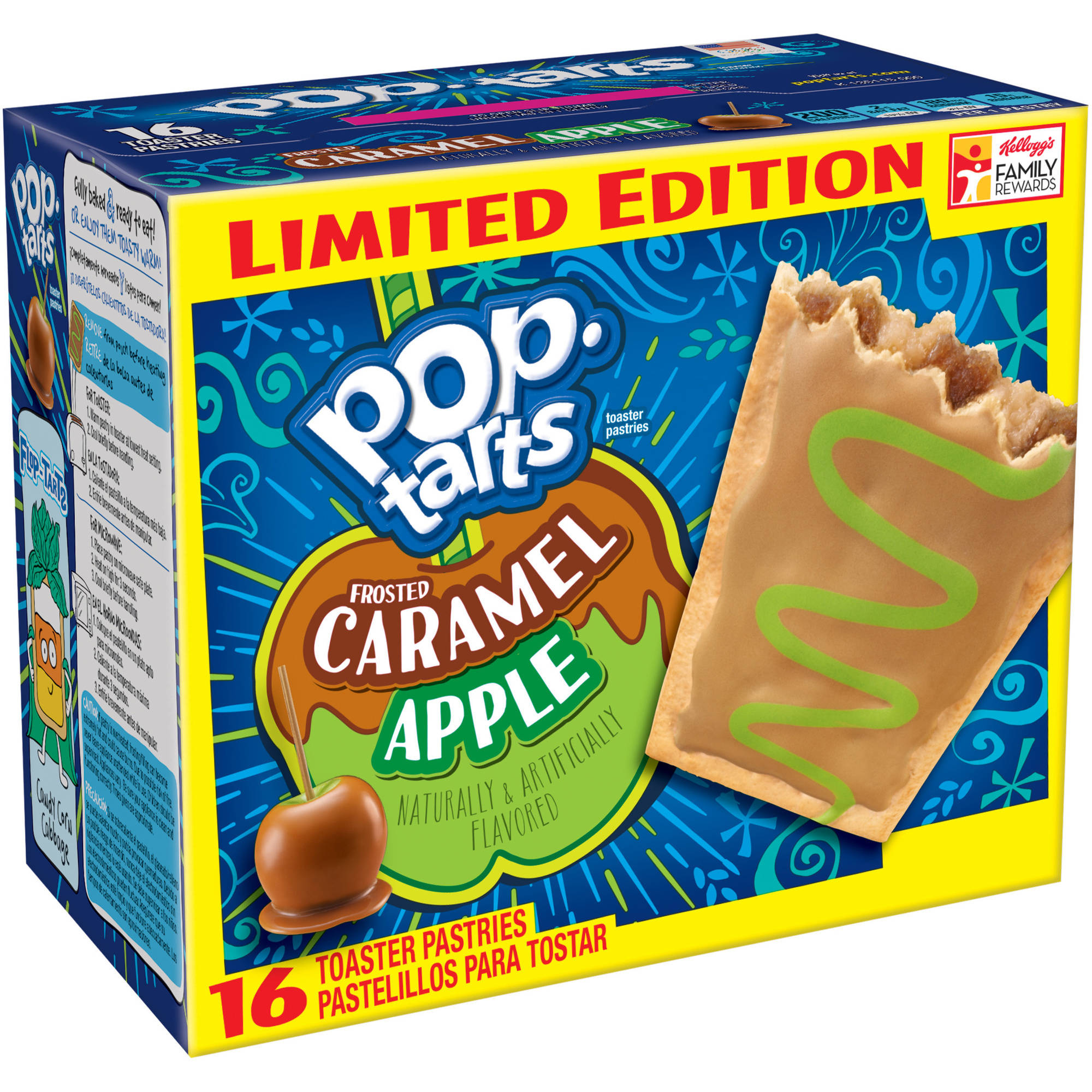 Kellogg's Pop-Tarts Frosted Caramel Apple Toaster Pastries 16ct 28.2oz