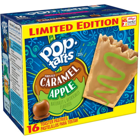 Kellogg's Pop-Tarts Frosted Caramel Apple Toaster Pastries 16ct 28.2oz ...
