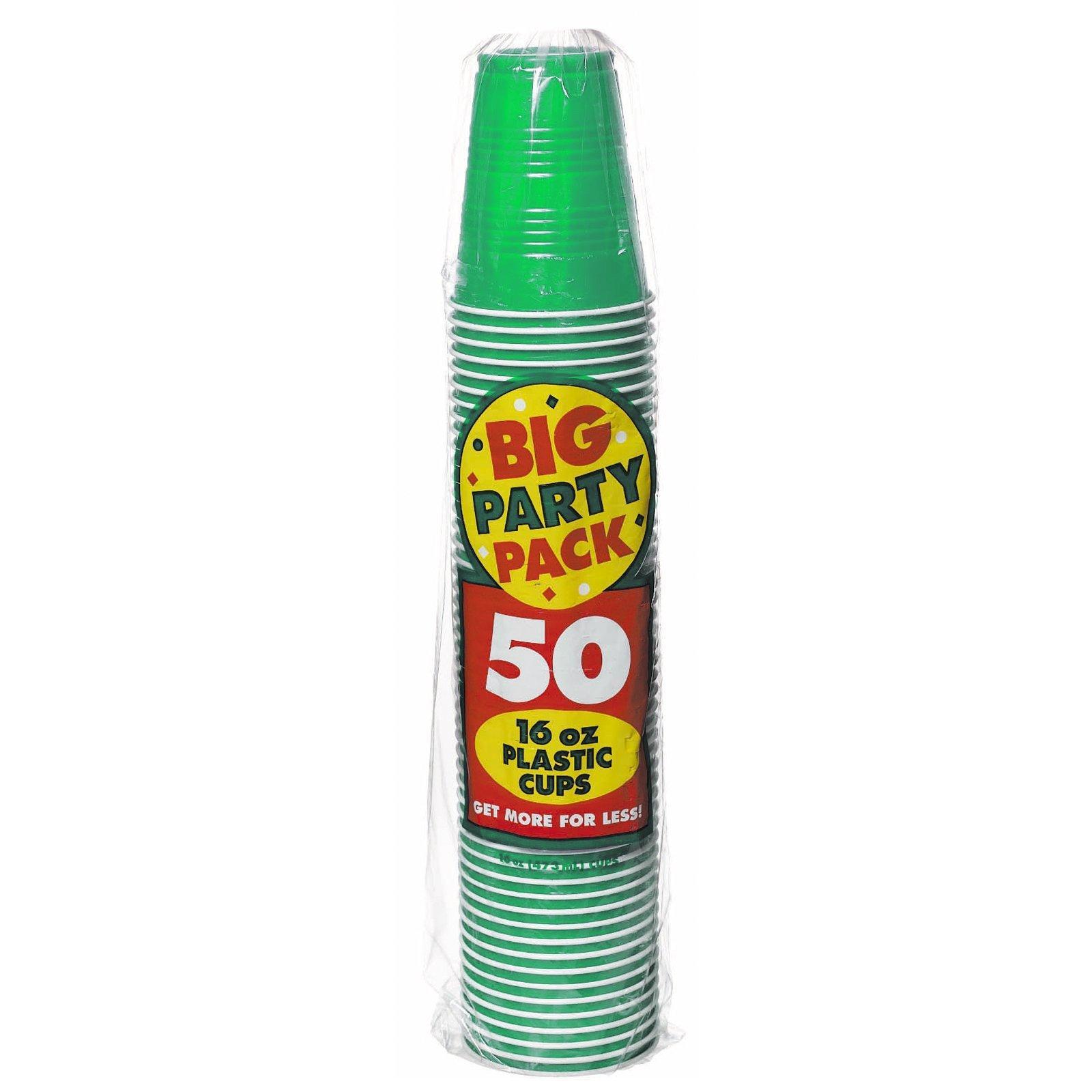 Big Party Pack 16 oz. Plastic Cups