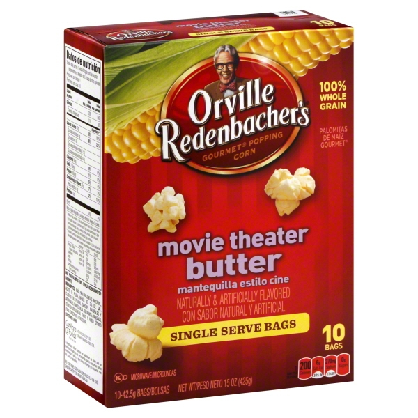 Orville Redenbacher's Movie Theater Butter Microwave Popcorn, 12 Ct, 17.98 Oz