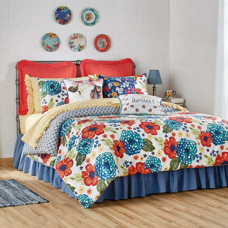 The Pioneer Woman Dazzling Dahlias Comforter