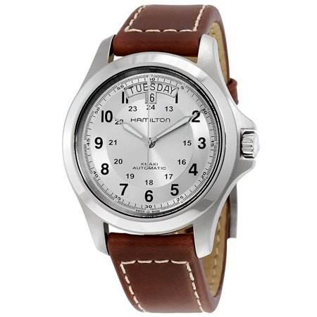 Khaki Field King Automatic Beige Dial Mens Watch H64455523