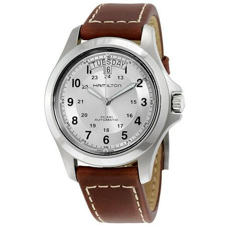 Kings Team Watch (Khaki Field King Automatic Beige Dial Mens Watch H64455523 )