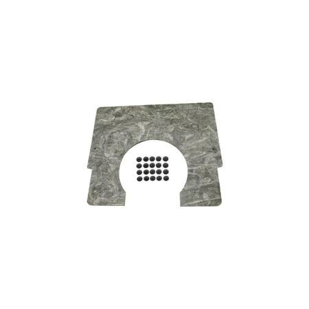 Hood Cowl Seal (Eckler's Premier  Products 33180767 Camaro Hood Insulation Pad Cowl)