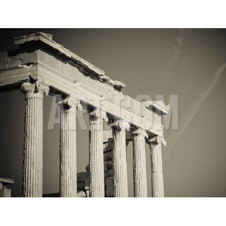 Greek Column Decorations (Greek Columns Print Wall Art By)
