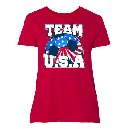 Team USA Women's Plus Size T-Shirt ()
