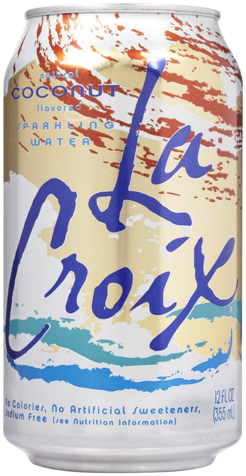 LaCroix Sparkling Water, Coconut, 12 Fl Oz, 12 Ct by LaCroix