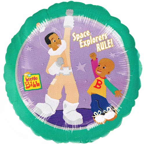 Little Bill 'Space Explorers' Foil Mylar Balloon (1ct)