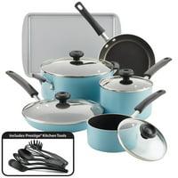 Deals on Farberware 15-pc Aluminum Nonstick Pots and Pans Cookware Set