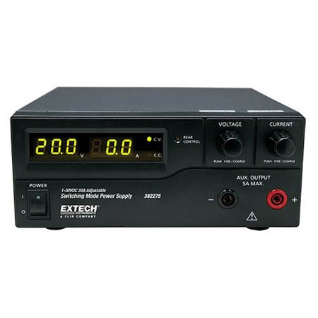 Extech 382275 600W Switching Mode DC Power Supply (120V) Laboratory Grade Power Supply