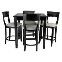 Safsil Seating 5 Piece Biedermeier Pub Set
