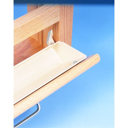 Rev-A-Shelf 6562-14-52 6561 Series 14 Inch Tab Stop Sink Front Trays (Set of 2)