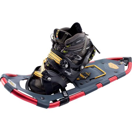 Atlas Snowshoes Company Men's Montane Mountain Hiking Snowshoes, Navy/Red, 35