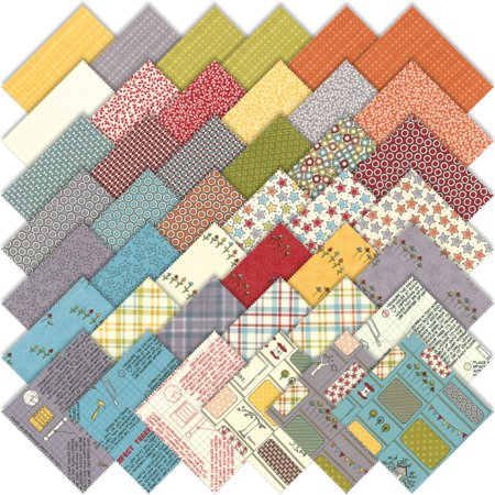 Moda The Treehouse Club Charm Pack By Sweetwater 42 5 Quilting Cotton Fabric Squares