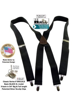 252b9c97ce5 Product Image Holdup Suspender Co Classic Series Black XL 1 1 2