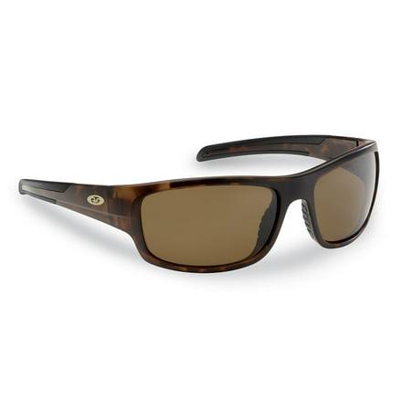 Flying Fisherman 7709TA Shoal Sunglasses, Matte Tortoise