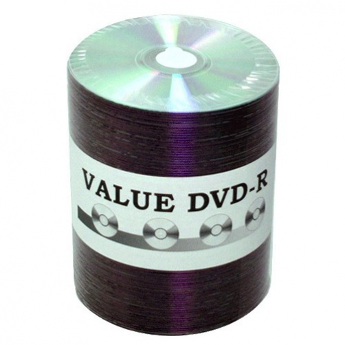 600 JVC Taiyo Yuden Value Line 8x DVD-R Silver Thermal Lacquer