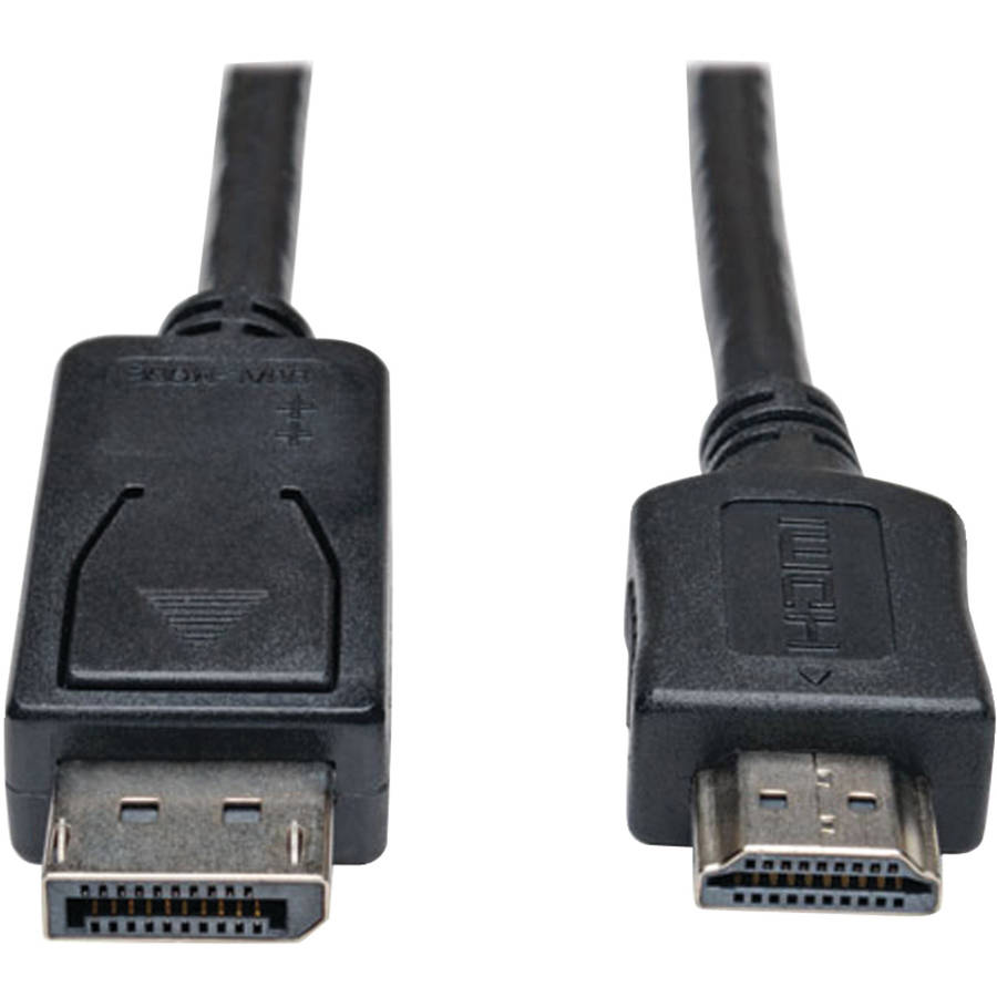 Tripp Lite P582-003 DisplayPort to HDMI Adapter Cable, 3'
