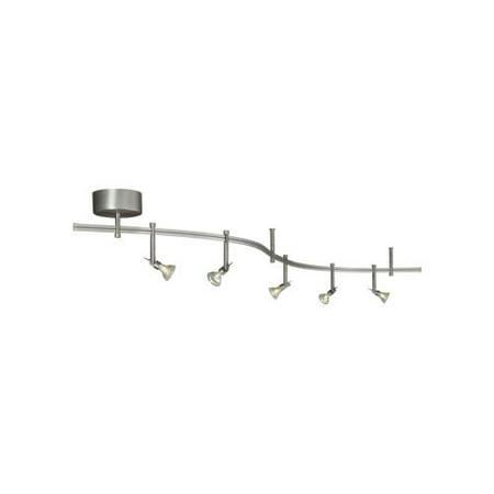 Tech lighting 800ral5mkn tiella 5 light decorative flexible track tech lighting 800ral5mkn tiella 5 light decorative flexible track light kit aloadofball Images