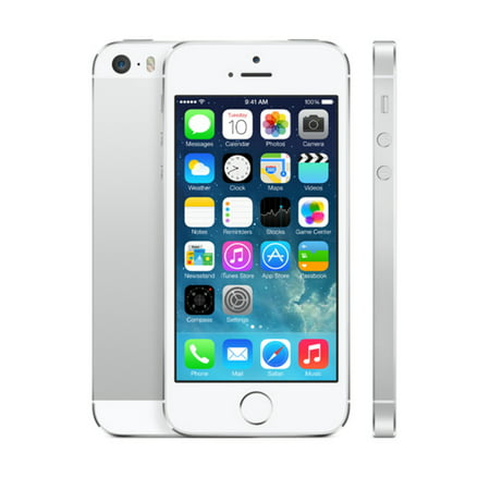 Grade B Refurbished Apple Iphone 5S 32Gbgsm Unlocked Ios Smartphone   Silver White