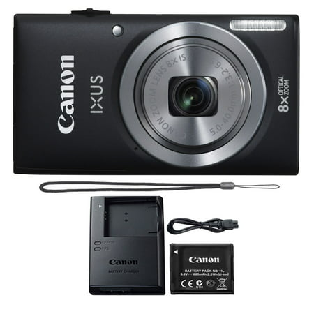Canon IXUS 185 / ELPH 180 20.0MP 8X Optical Zoom 720p Video Compact Digital Camera (Best Compact Travel Zoom Camera 2019)