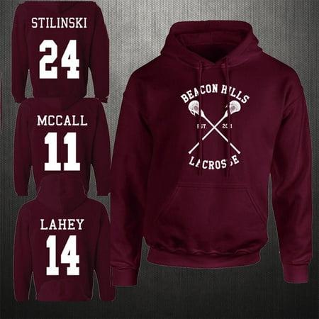 Diy Wolf Hoodie (Beacon Hills Lacrosse Hoodie Teen Wolf McCall Stilinski Lahey Unisex)