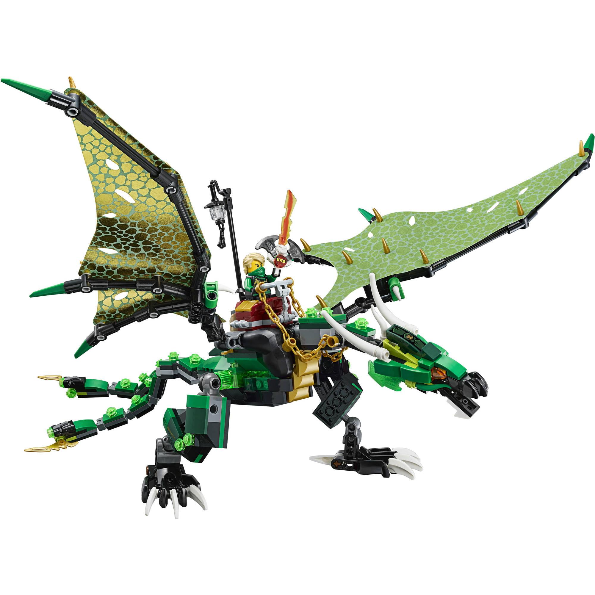 Lego Ninjago Dragon LEGO NINJAGO The Green...