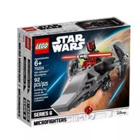 lego star wars sith infiltrator microfighter 75224 building kit , new 2019 (92 piece)