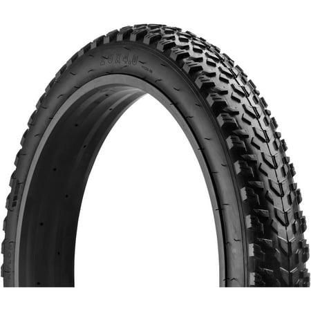 mongoose fat bicycle tire    black walmartcom