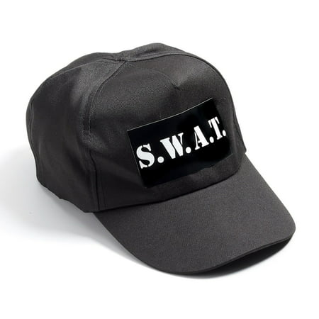 S.W.A.T. Adult Cap Halloween Costume Accessory](Halloween W Usa)