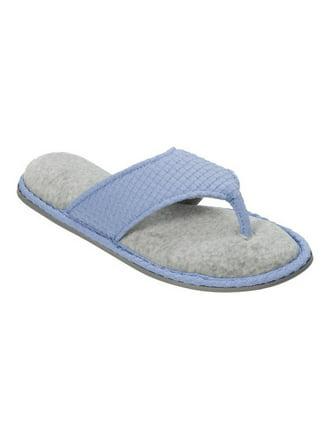 Dearfoams Textured Knit Thong Slipper (Women's) myxA71Bm