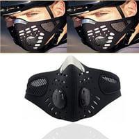 Face Mask Bandana, Motorcycle Face Mask for Men Women, Skeleton Half Face Mask Sun UV Dust Wind Protection Breathable Rave Face Scarf Neck Gaiter for Biker Riding,1 Pack RllYE