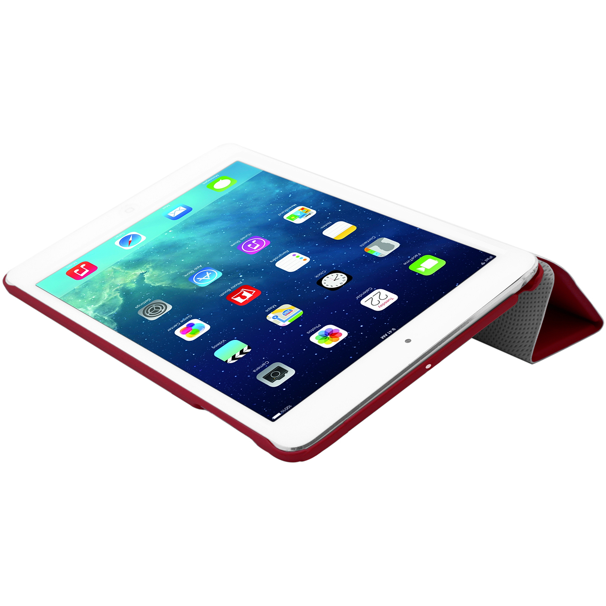 Cirago Slim-fit PU Cover Case for Apple iPad Air, Red