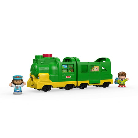 Little People Friendly Passengers Train with Sounds & Phrases - Train Whistle Sounds
