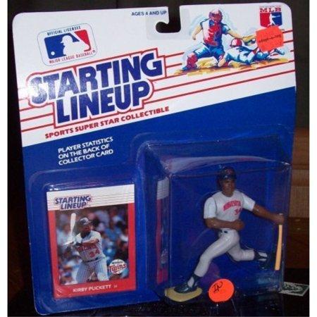 - Starting Lineup MLB Kirby Puckett w Minnesota Twins 1988