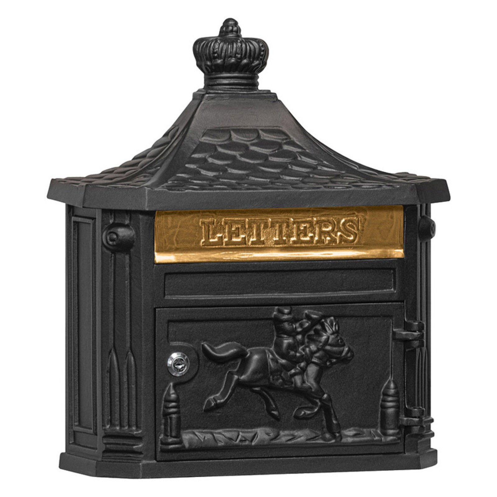 Salsbury Industries Victorian Mailbox, Surface Mounted by Salsbury industries