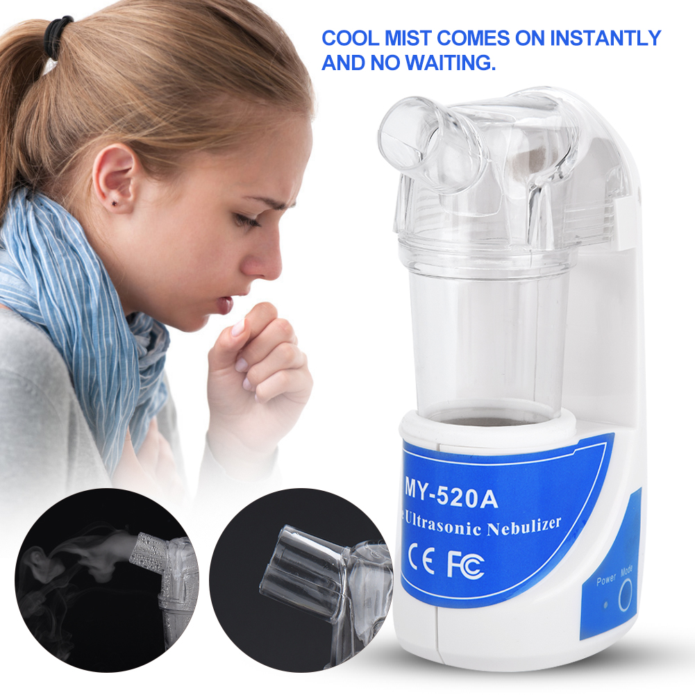 Hilitand Portable Ultrasonic Nebulizer Atomizer Beauty Instrument Spray Steamer Humidifier, Humidifier, Nebulizer Kit