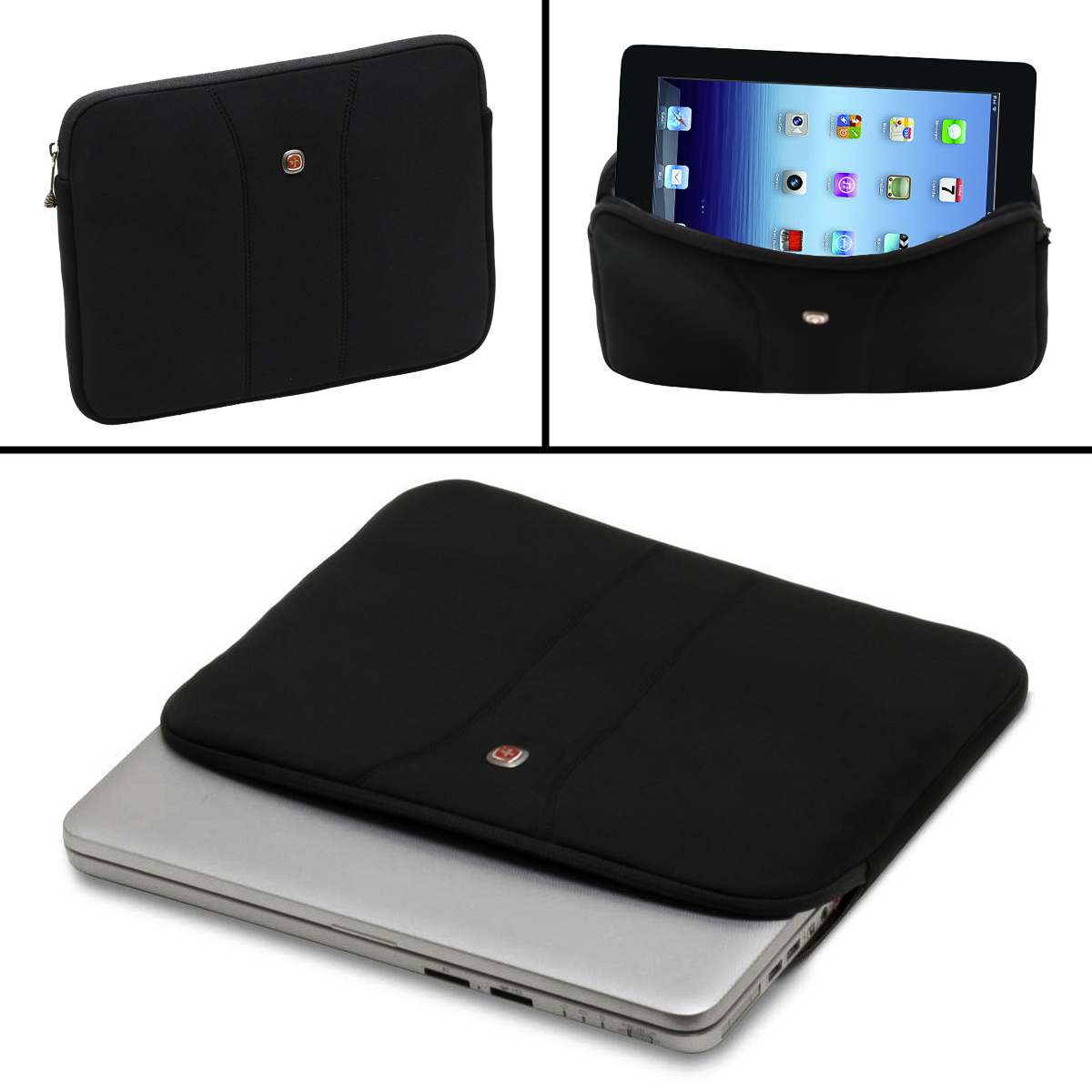 Wenger 10 Legacy Netbook Sleeve Tablet iPad Travel Computer Padded Protection