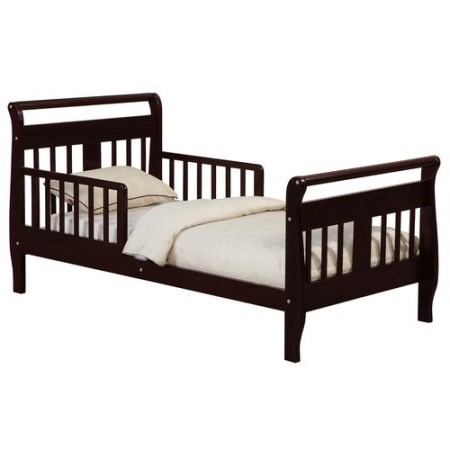 Angel Line Haley Toddler Bed, Espresso