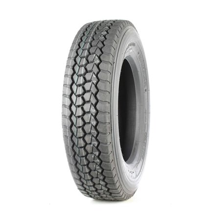 Double Coin RLB490 Low Profile Drive-Position Multi-Use Commercial Radial Truck Tire - 245/70R19.5 16 (Double Ply Stockinettes)