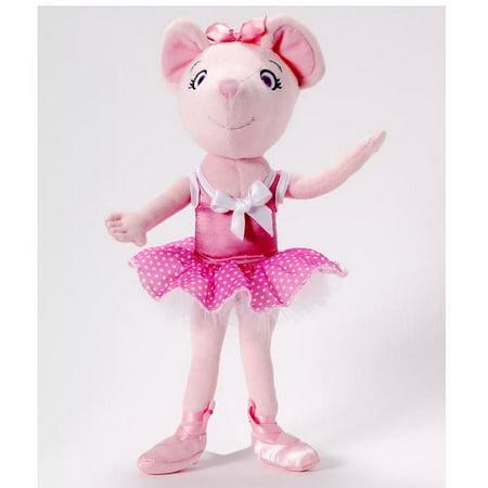 Polka Dot Angelina Ballerina Cloth Doll 9