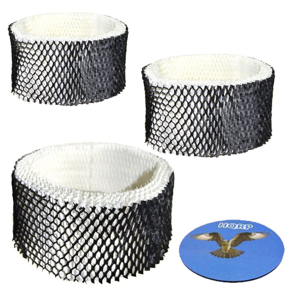 HQRP 3-Pack Filter for Sunbeam SWF62-CN1 #SWF-62 SCM41000 SWF62 SF-212 SCM1100 SCM1702 SCM1761 SF212 SCM1762 SCM2409 SCM1701 Humidifier + HQRP Coaster