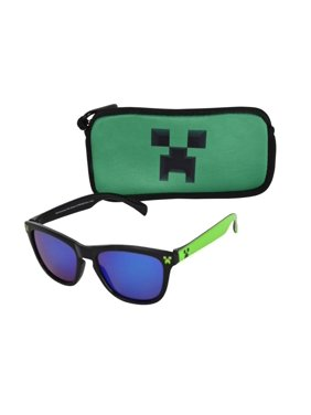 Minecraft Children's Sunglass and Pouch Set