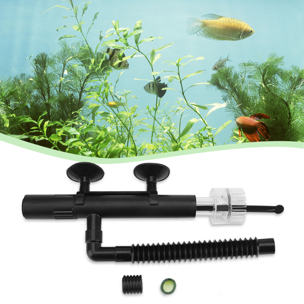VBESTLIFE 1Pc Mini Fish Tank Surface Oil Skimmer Remover for Small Coral Aquarium, Mini Aquarium Skimmer, Aquarium Skimmer