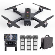 MJX B4W Drone Bugs 4W Brushless RC Drone with Camera 4K 5G WIFI FPV Optical Positioning Drone Foldable Quadcopter Follow Me Drone with 3 Battery Handbag