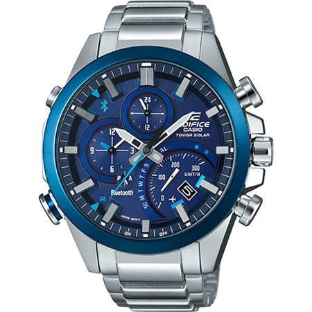 Crossing Lamp - Casio Edifice EQB-501DB-2A Smartphone Link Watch (Stainless Steel)