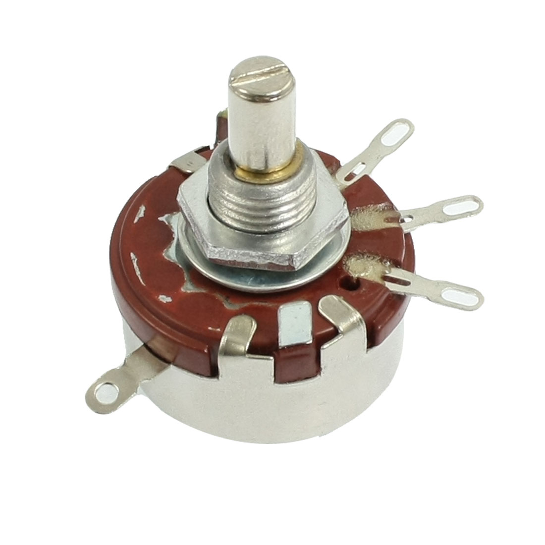 2W 4.7K ohm 3 Terminals Single Linear Taper Rotary Potentiometer - image 1 of 1