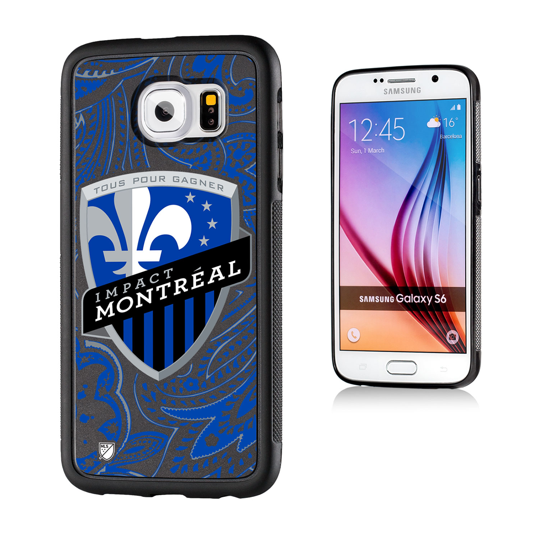 Montreal Impact Paisley Galaxy S6 Bumper Case